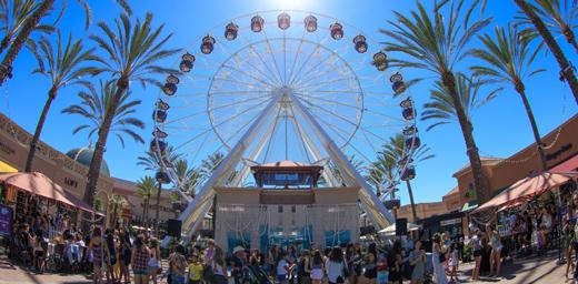 rvine Spectrum Center's Endless Summer Festival Kicks Off Back-to-School Shopping