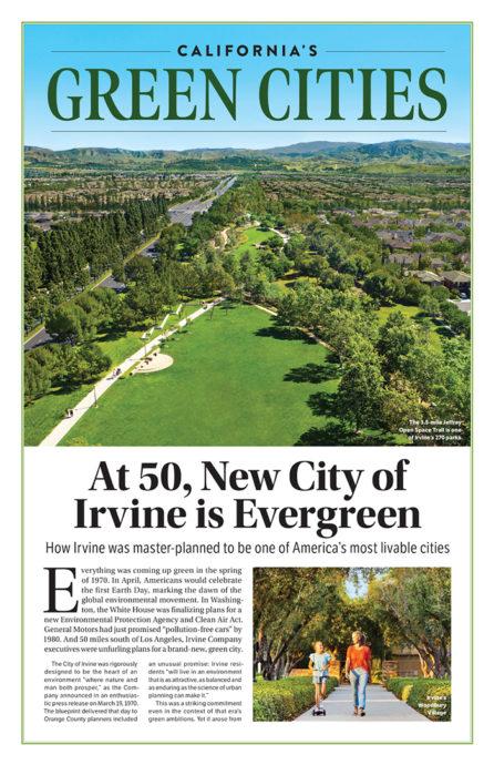 New City of Irvine is Evergreen