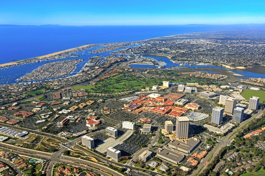Irvine Company Headquarters in Newport Center, Newport Beach, California