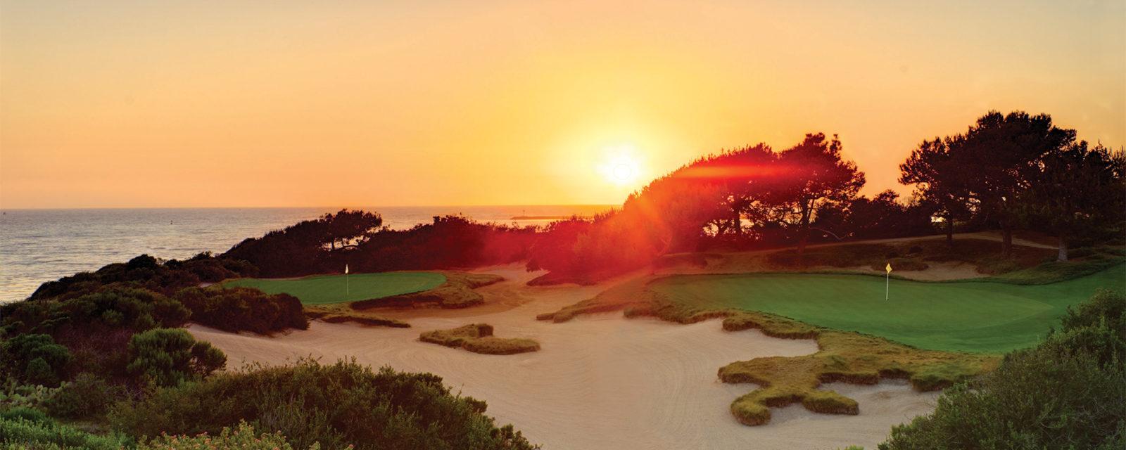Pelican Hill Golf Course Sunset