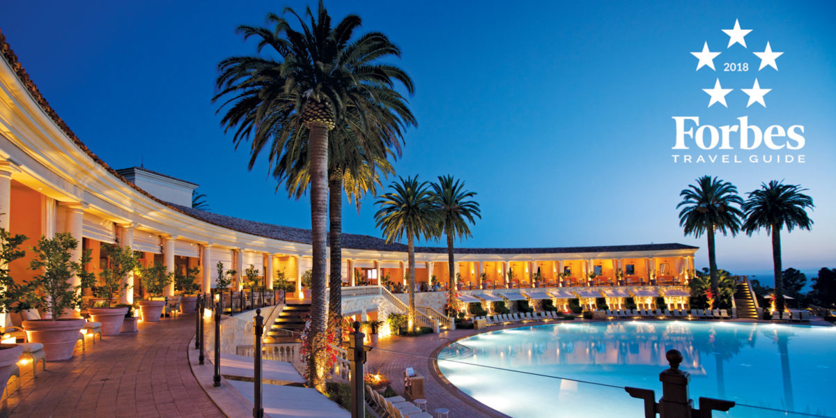 The Resort At Pelican Hill And Spa Earn Top Honors From Forbes Travel Guide