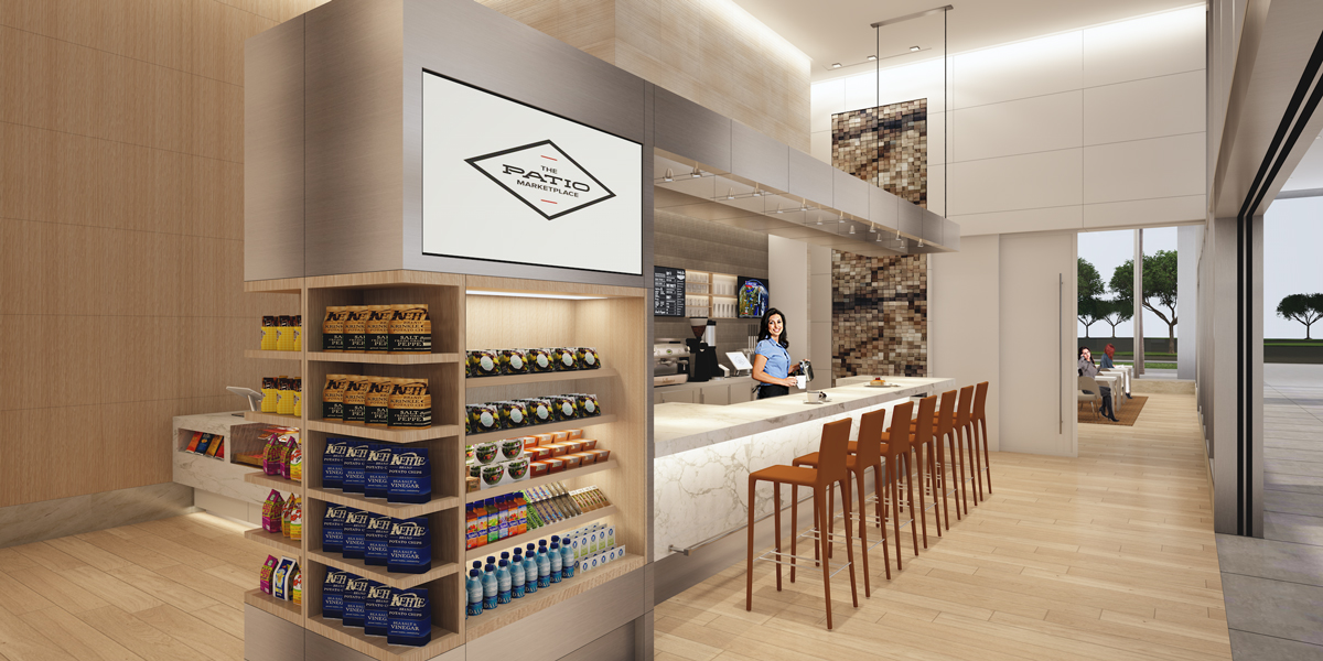 The Patio Marketplace To Bring Elevated Workplace Dining Experience To 400  Spectrum Center