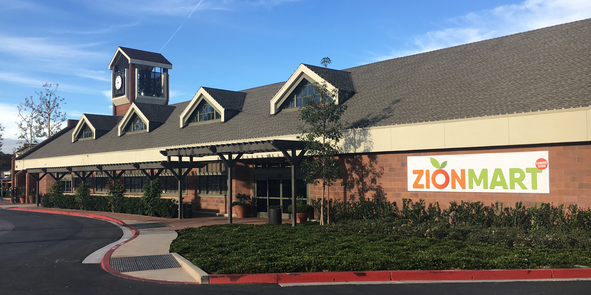 Zion Market new concept store at Parkview Center in Irvine